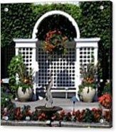 Bushart Gardens Acrylic Print