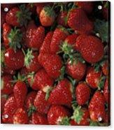 Bushel Of Strawberries Acrylic Print