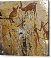 Bushman Painting Acrylic Print