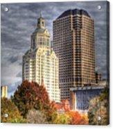 Bushnell Park Hartford Acrylic Print