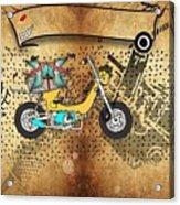 Business Card Tattoo Acrylic Print