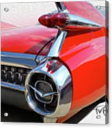 Business End Bumper Acrylic Print