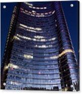 Business In Milan Acrylic Print