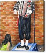 Buskerfest Street Toronto Acrylic Print