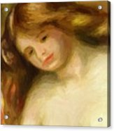 Bust Of A Young Nude 1903 Acrylic Print