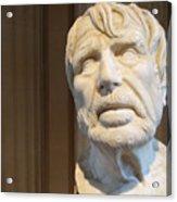 Bust Of An Old Man Acrylic Print