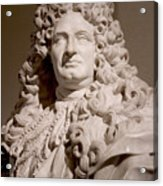 Bust Of King Louis Acrylic Print