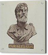 Bust Of Paracelsus Acrylic Print