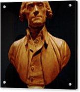 Bust Of Thomas Jefferson  Acrylic Print