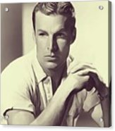 Buster Crabbe, Vintage Actor Acrylic Print