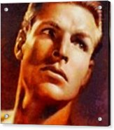 Buster Crabbe, Vintage Hollywood Legend Acrylic Print