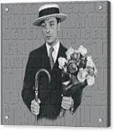 Buster Keaton Acrylic Print