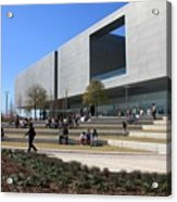 Busy Day At Tampa Museum Of Arts Acrylic Print