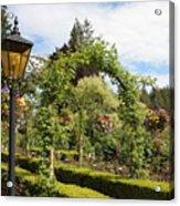Butchart Gardens Arches Acrylic Print