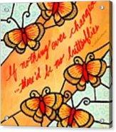 Buterflywhispers2 Acrylic Print