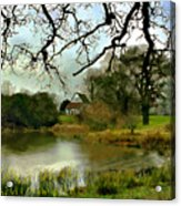 Butlers Retreat Epping Forest Uk Acrylic Print