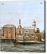 Butlers Wharf And Courage's Brewery Acrylic Print