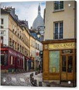 Butte De Montmartre Acrylic Print
