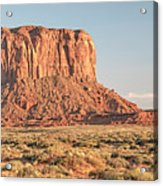 Butte, Monument Valley, Utah Acrylic Print