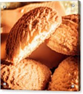 Butter Shortbread Biscuits Acrylic Print