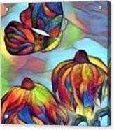 Butterflies For Children 1 Acrylic Print