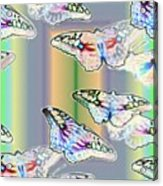 Butterflies In The Vortex Acrylic Print