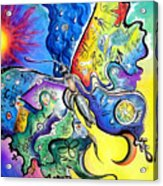 Butterfly 01. Science And Its Progress  Acrylic Print