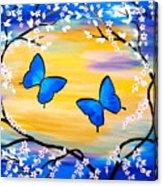 Butterfly Bliss Acrylic Print