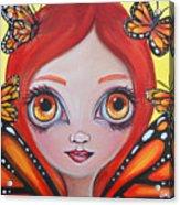 Butterfly Fairy Acrylic Print