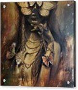 Butterfly Girl.  Acrylic Print