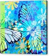 Butterfly In Flight #3  Acrylic Print