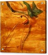 Butterfly Kiss - Tile Acrylic Print