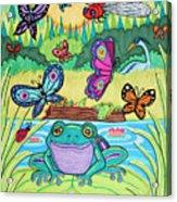 Butterfly Lake Acrylic Print