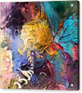 Butterfly Mind Acrylic Print