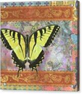 Butterfly Mosaic Acrylic Print