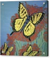 Butterfly Picnic Acrylic Print