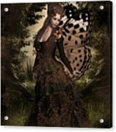 Butterfly Princess Of The Forest Acrylic Print