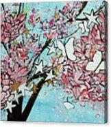 Butterfly Star Magnolia Soulangeana 201825 Acrylic Print