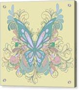 Butterfly Swirls Acrylic Print