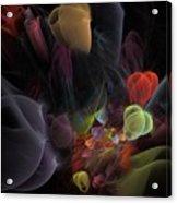 Butterfly Tea - Fractal Art Acrylic Print