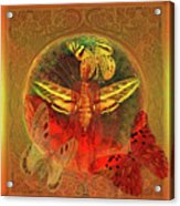 Butterflyman Solarlife Acrylic Print by Joseph Mosley