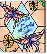 Butterflywhispers1 Acrylic Print