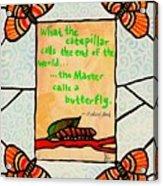 Butterflywhispers3 Acrylic Print