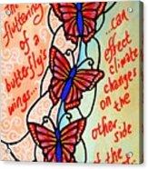 Butterflywhispers4 Acrylic Print