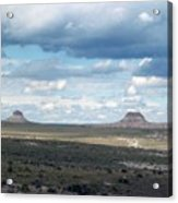 Buttes Acrylic Print