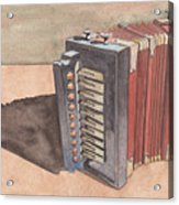 Button Accordion Acrylic Print