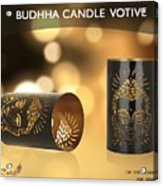 Buy Attractive Buddha Candle Votive From Rustik Craft  Acrylic Print