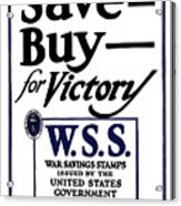 Buy For Victory Acrylic Print