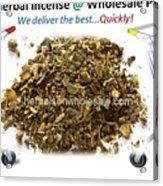 Buy Herbal Incense In Great Number At Wholesale Prices Acrylic Print