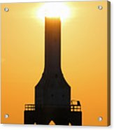 Buzzing The Tower Acrylic Print